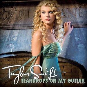 parole:Taylor Swift - Teardrops On My Guitar
