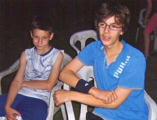 foto de mes deux cousin