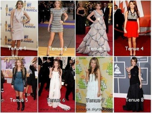 quelle tenue préféré vous?