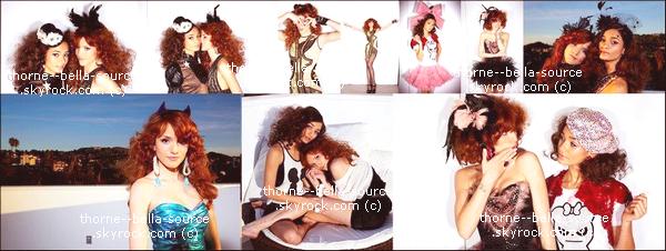 30 janvier 2012 Nouveaux photoshoot de Bella et Pia Mia. Elles sont superbe!