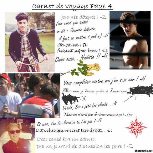 Bonus 4 - Carnet de Voyage Page 4