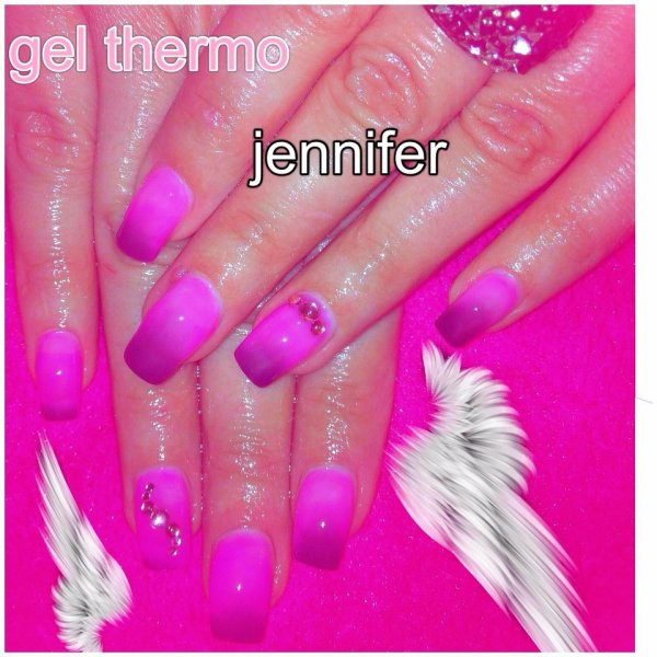 Jennifer et le gel thermo....
