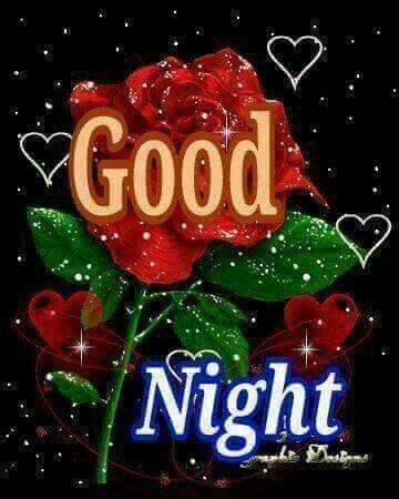 bonne nuit a vous mes amis kiss