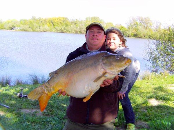 petite 24 h avec ma fille dans la somme le09 05 2013 avec 9 fish de 6 kg a 12 kg que du bonheur
