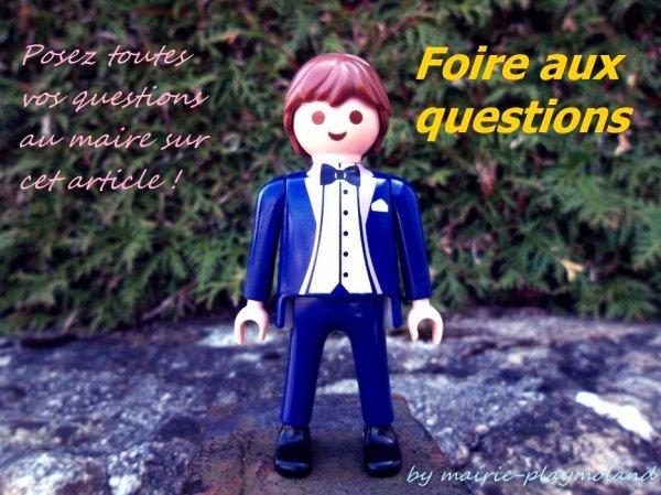 FAQ : c'est ici que vous posez toutes vos questions au maire !