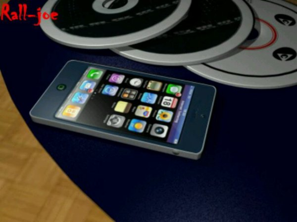 Iphone 4 by Rall-joe