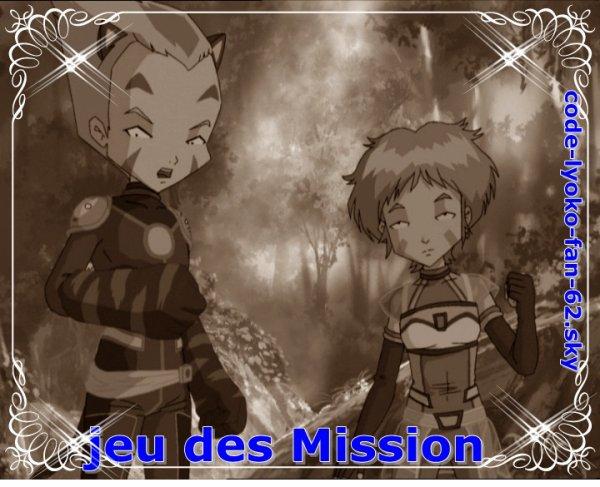 Jeu de mission