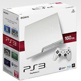 Une PS3 blanche en novembre