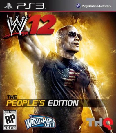 Une édition The Rock pour WWE12