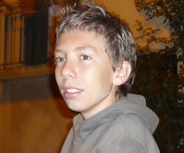 Moi Aznar66 à 13 ans