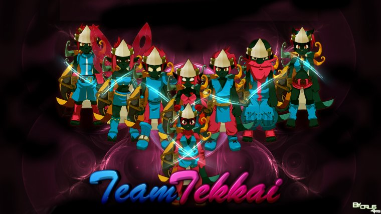 Présentation de la team Tekkai