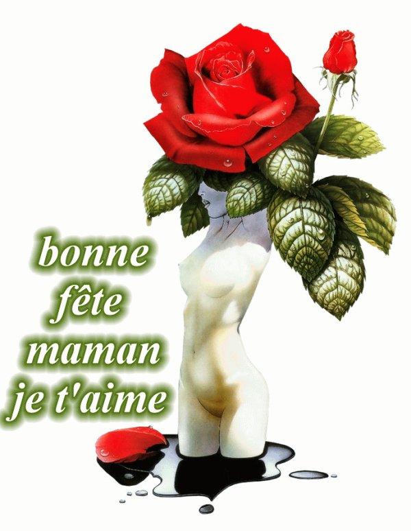 ) ) )    BONNE  FETE   MAMAN   ( ( (