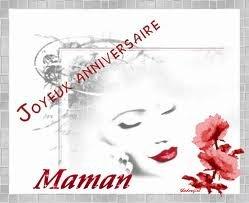 ) ) )     JOYEUX    ANNIVERSAIRE   MAMAN   ( ( (