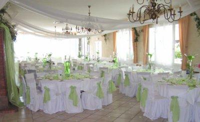 nos décoration de salles de mariage !