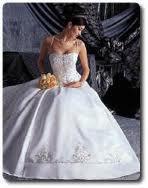 robe de mariée de luxe !