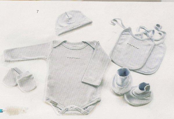 Lot cadeau ensemble bébé 6 pieces NAFNAF