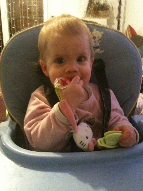 Ma fille a 11 mois