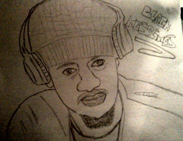 Bref,j'ai dessiner Black M.