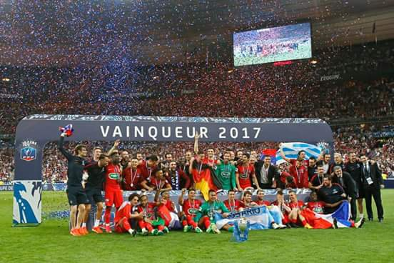 Finale Coupe de France 2017 Angers 0-1 Psg