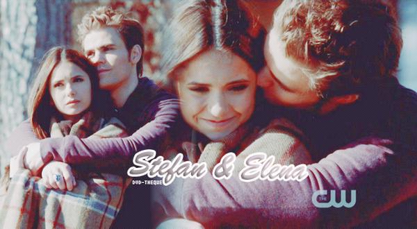 Stefan & Elena ♥ (Vampire Diaries)