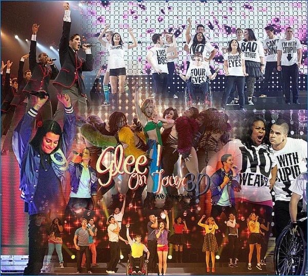 Glee! On Tour 3D ♥