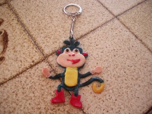 x. Porte clée BAB0UCHE : 7 euros !