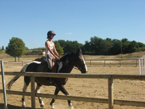 cours cheval avec gepy de cantegril <3<3