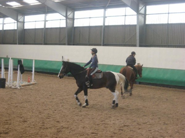 Cours cheval avec gepy <3 *.*