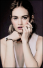 — Lily James
