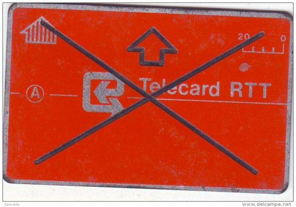 Télécarte belge - besoin d'infos // Phonecard from Belgium - Information needed