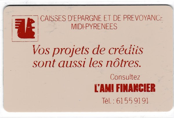 Carte à usage inconnu // Card for which the usage is not clear to me