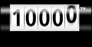 10 000 visiteurs ! // 10,000 visits!
