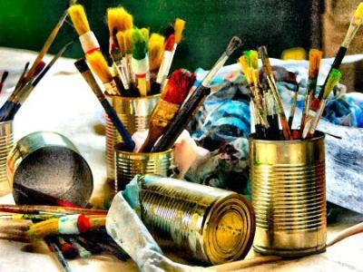 vive la peinture