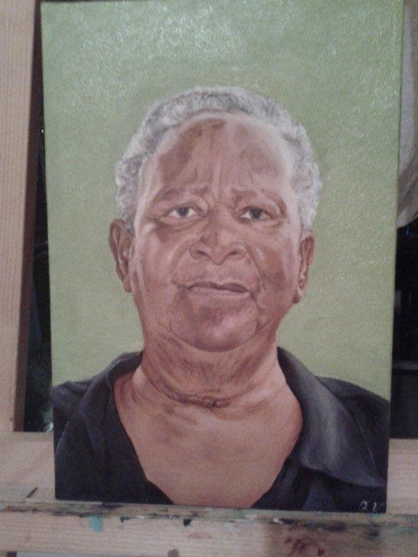 Portrait de ma grand mère