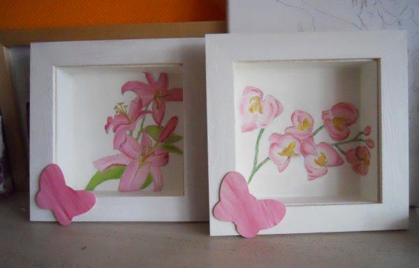 Tableaux peint à l'acrylique