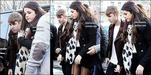 09/11 : Les deux amoureux sont allés faire du shopping dans la boutique « Louis Vuitton » à Paris.