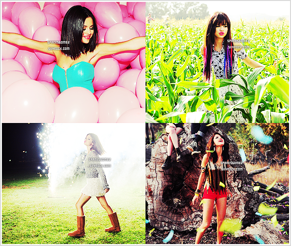 Voici quelques stills du prochain clip de Selena « Hit The Lights » qui sortira le 16/11 ...