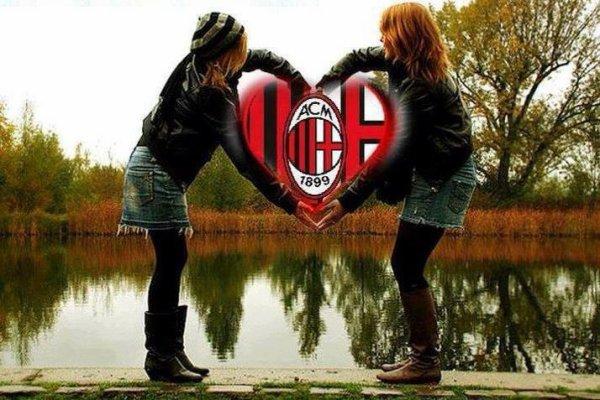 Con il Milan nel cuore  <3