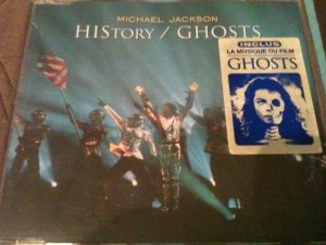 MAXI CD SINGLE HISTORY / GHOSTS