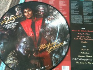 PICTURE DISC THRILLER 25