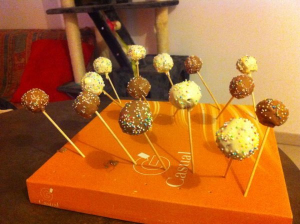 Mes Pop Cakes !