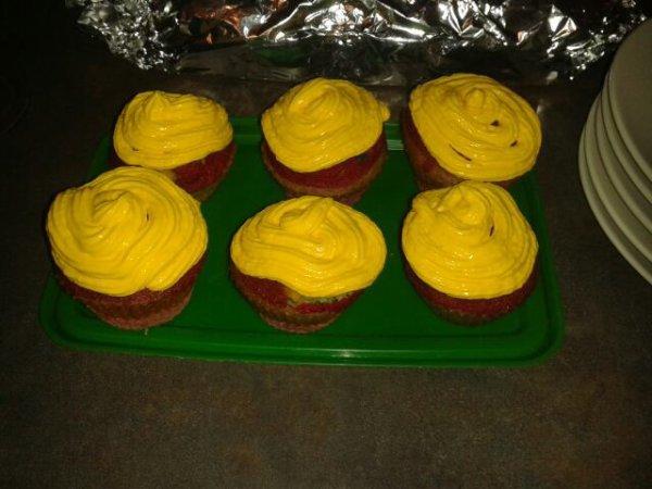 Mes Cup-cakes à l'orange !