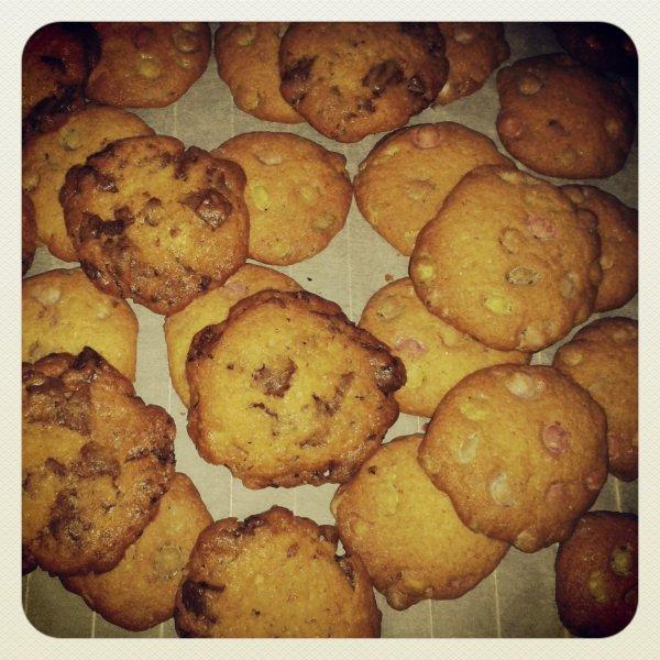 Mes Cookies Pépites de Chocolat & Cookies Smarties !