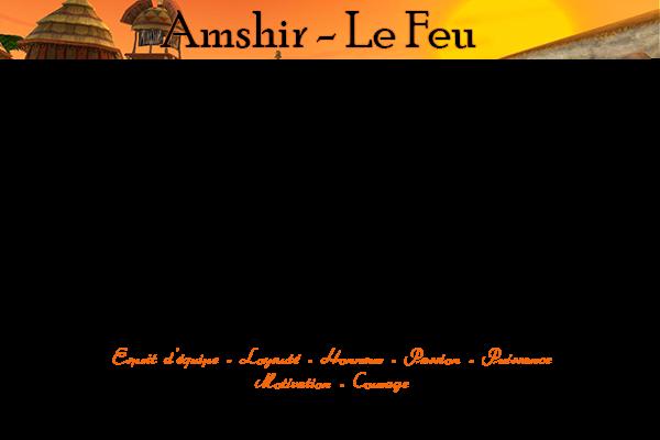 ↠ Amshir ↞