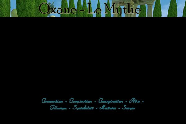 ☩ Oxane ☩