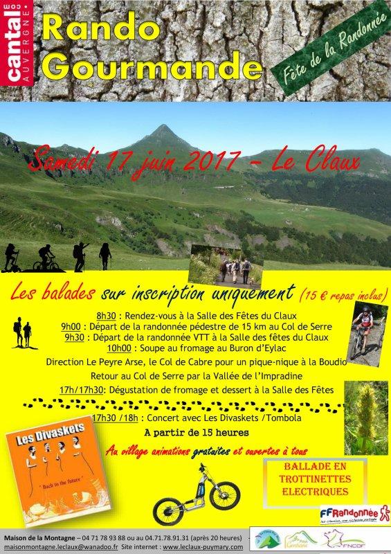 Fête de la randonnée au Claux (samedi 17 juin)