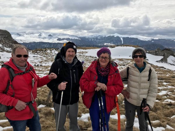 photos de la sortie au Col d'Aulac du 25 mars 2018