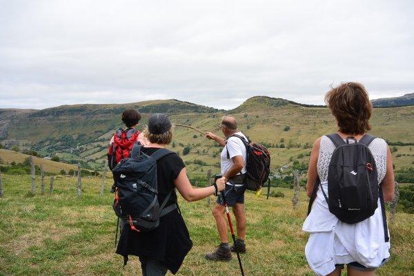 photos de la sortie au Puy Violent