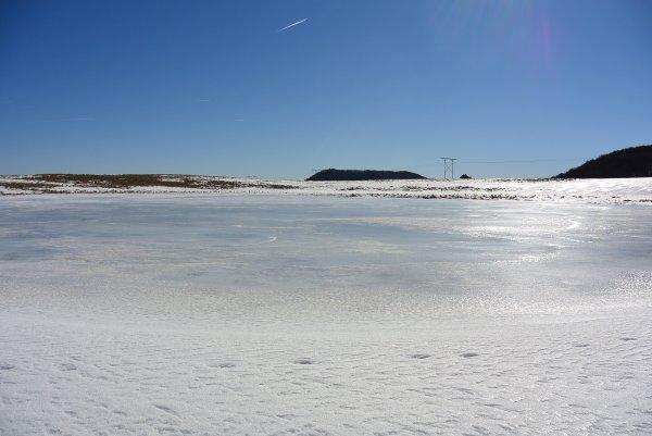 photos de la rando-raquettes au Lac Pavin (17 février 2019)