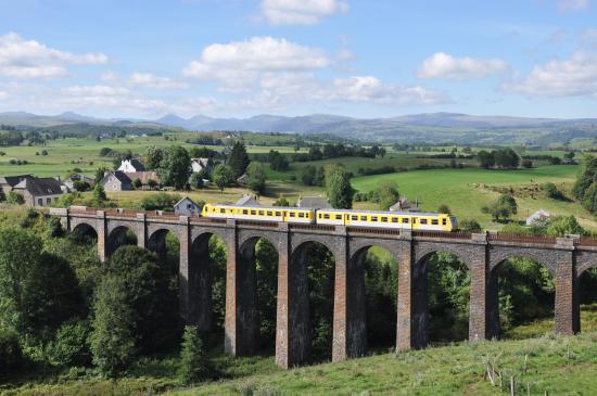 Train randonnée avec le Gentiane Express